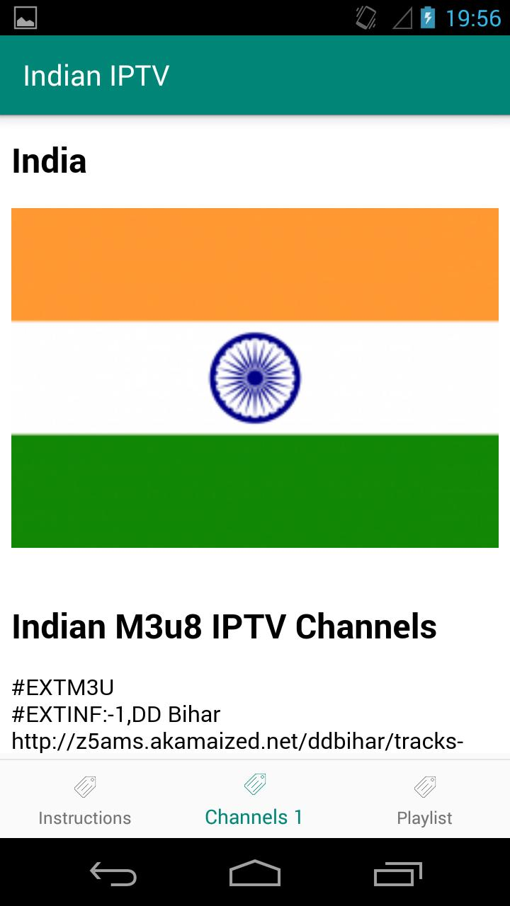 Indian M3u8 IPTV Channels for Android - APK Download