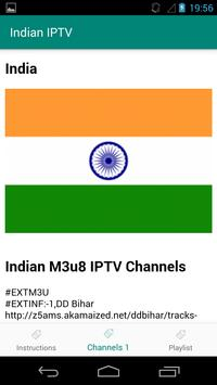 Indian M3u8 IPTV Channels poster