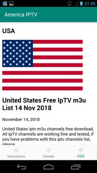 America (USA and CANADA) IPTV for Android - APK Download