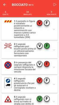 5 Schermata iPatente Quiz