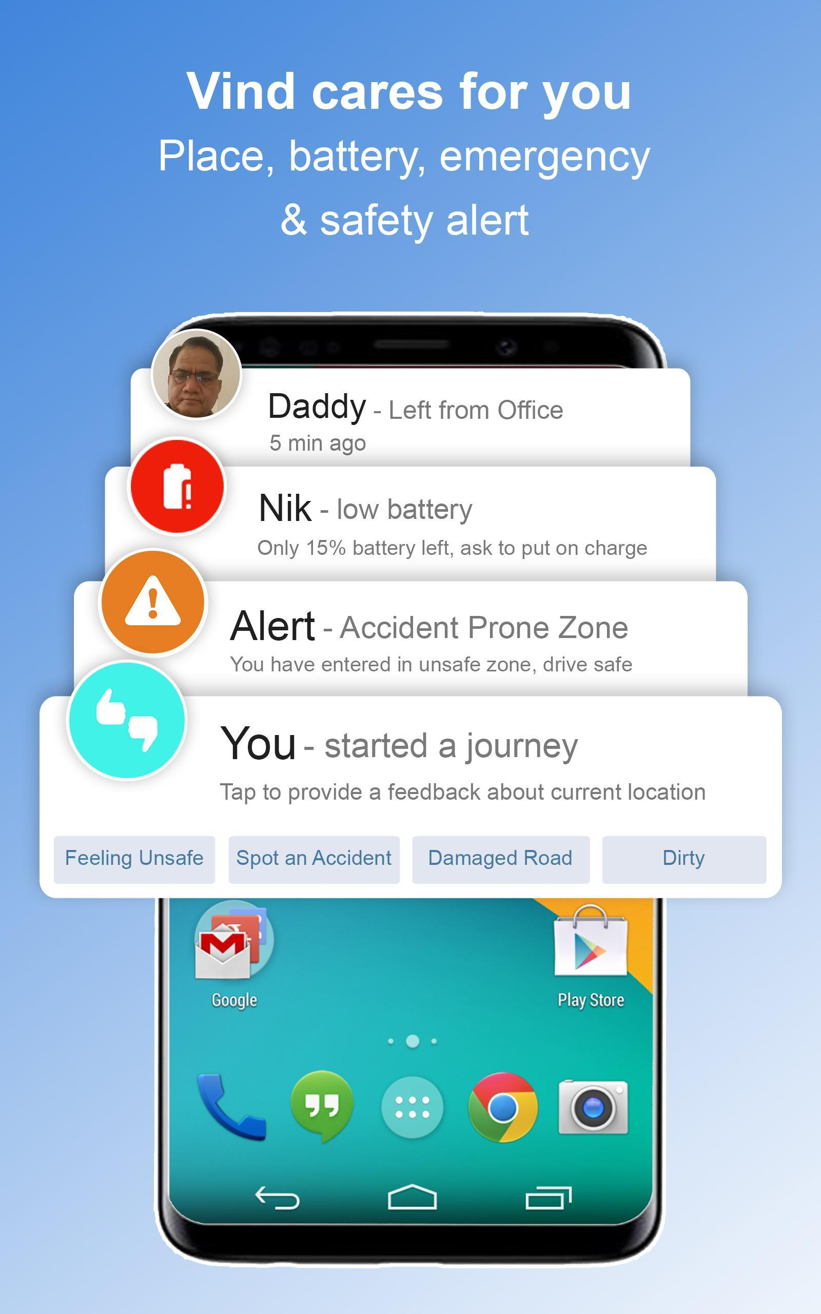 Family Locator on Map - GPS Phone Tracker for Android - APK ... on android mobile phone location tracker, google earth live gps, google track android phone, google gps tracking map,