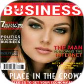 Magazine Frame (عکس روی مجله) icon
