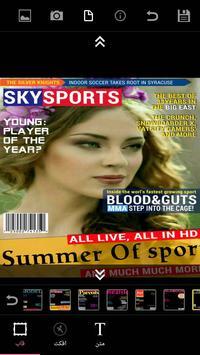 Magazine Frame (عکس روی مجله) screenshot 2
