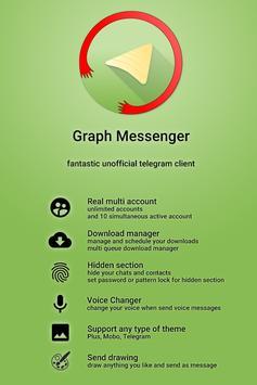 Graph Messenger Poster