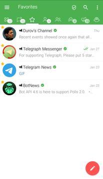 Graph Messenger captura de pantalla 1