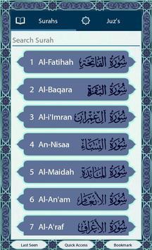 Quran SmartPen (Word by Word) screenshot 1