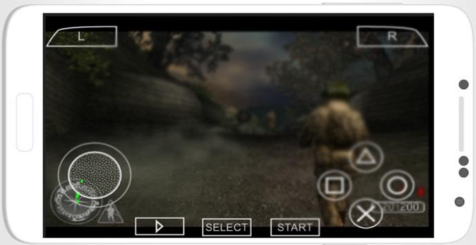 Goldenn PSP screenshot 1