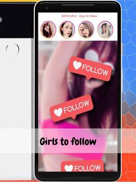 INSTA GIRLS - Easy to Follow screenshot 1