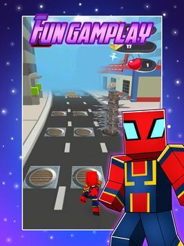 Avenger Craft Run screenshot 2
