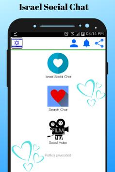 Israel Social Chat - Meet and chat with singles poster