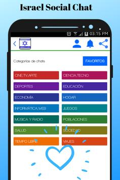 Israel Social Chat - Meet and chat with singles screenshot 2