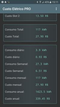 Custo Elétrico imagem de tela 2