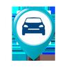 Icona Trova auto parcheggiata: Localizzatore auto gps
