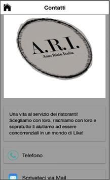ARI Asso Risto Italia screenshot 1