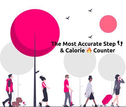 Step Counter - Pedometer & Activity Tracker الملصق
