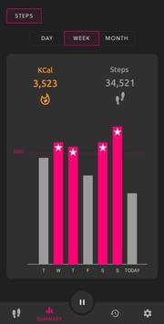 Step Counter - Pedometer & Activity Tracker تصوير الشاشة 12