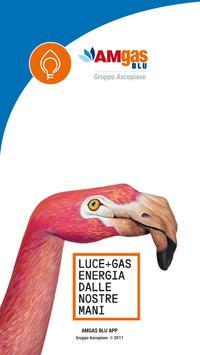 Amgas Blu App gas poster