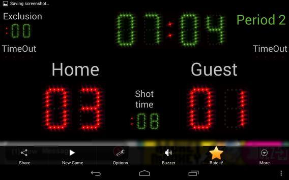 Scoreboard Waterpolo ++ screenshot 4