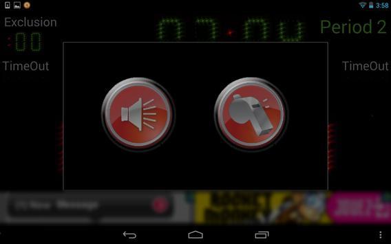 Scoreboard Waterpolo ++ screenshot 5