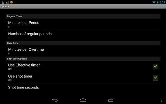 Scoreboard Waterpolo ++ screenshot 6