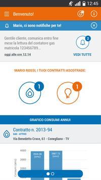 Ascotrade App gas e luce screenshot 2