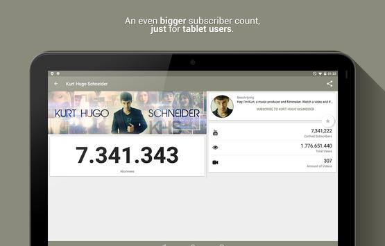 Realtime Subscriber Count screenshot 7