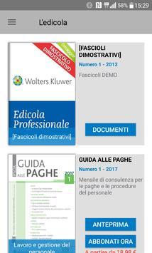 Edicola Professionale poster
