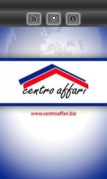 Centro Affari poster