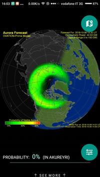 Northern Eye Aurora Forecast screenshot 1