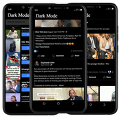 ikon Dark Theme Mode for Facebook