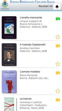 Biblio Spezia screenshot 1