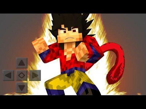 Saiyan Mod for Minecraft screenshot 2