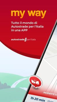 MY WAY Autostrade per l'Italia 海报
