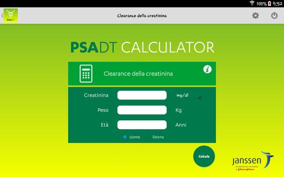 PSA DT Calculator screenshot 5