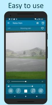 Relax Rain poster