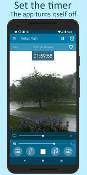 雨の音 - 睡眠のための雨の音 スクリーンショット 4