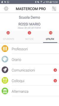 MasterCom - Registro Elettronico per famiglie screenshot 7