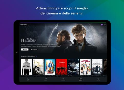 10 Schermata Mediaset Play Infinity tv