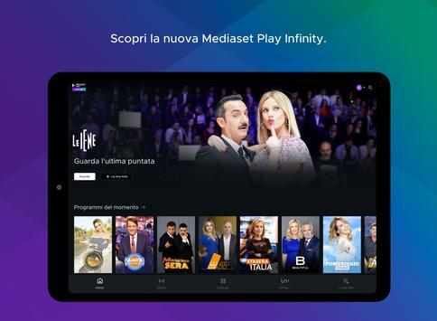 6 Schermata Mediaset Play Infinity tv