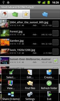 Dual File Manager XT captura de pantalla 1