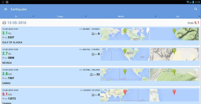Earthquake screenshot 9