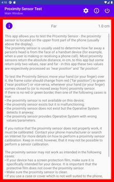 Proximity Sensor Test screenshot 10