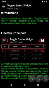 7 Schermata Toggle Status Widget
