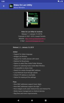 Wake On Lan Utility screenshot 20