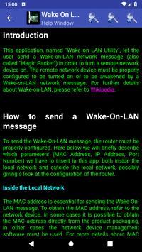 Wake On Lan Utility screenshot 5