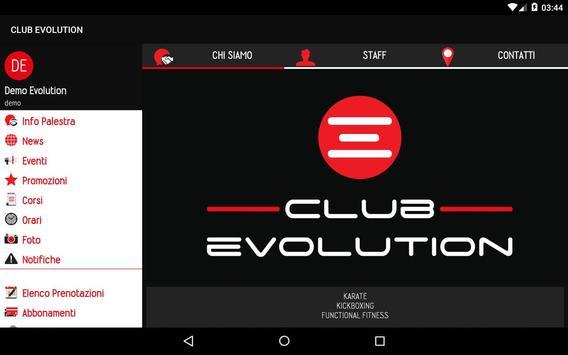 Club Evolution screenshot 3