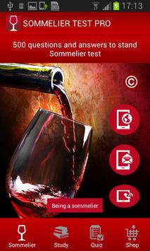Sommelier TEST - English poster