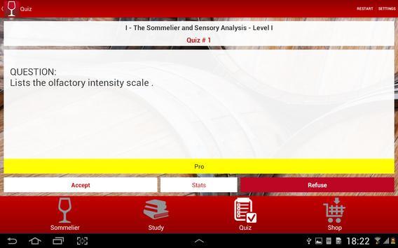 Sommelier TEST - English screenshot 10