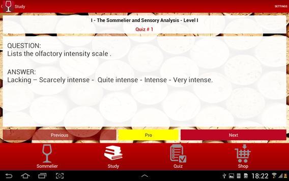 Sommelier TEST - English screenshot 8