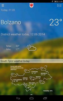 Weather South Tyrol screenshot 6